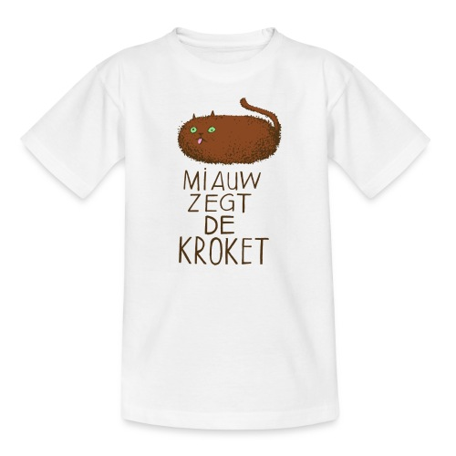 krokat - Teenager T-shirt