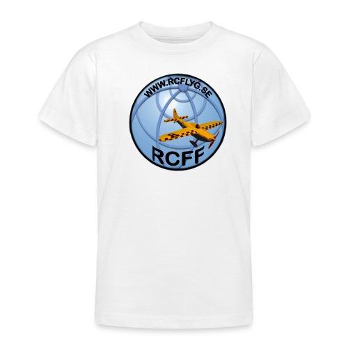 rcff dekal glob svart - T-shirt tonåring
