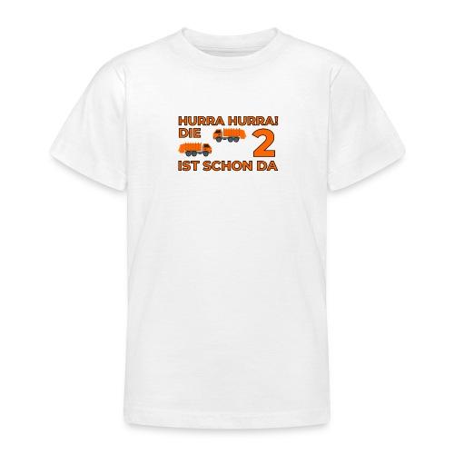 Drugie urodziny Śmieciarka - Koszulka młodzieżowa