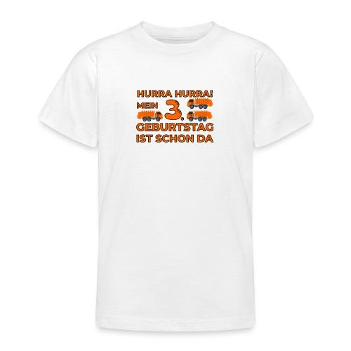 Trzecie urodziny śmieciarka - Koszulka młodzieżowa