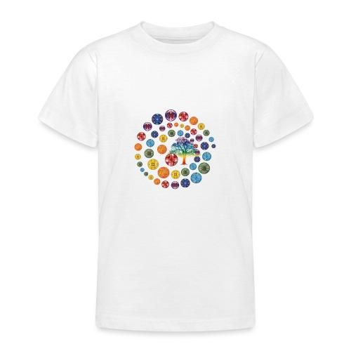 Espiral de Chakras - Camiseta adolescente