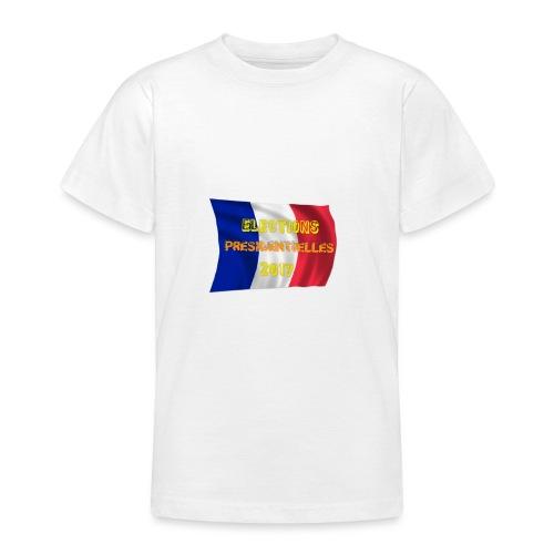 ELECTIONS 2017 - T-shirt Ado