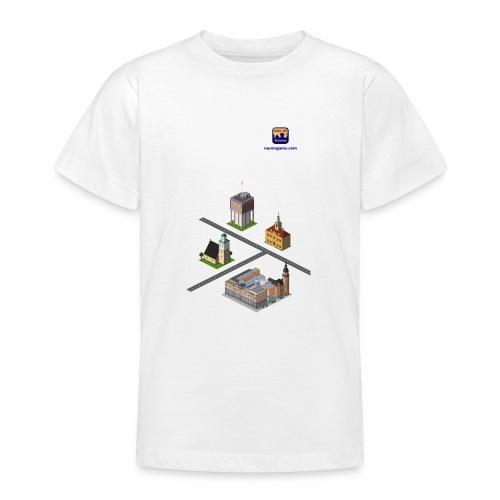 Raumagame mix for white / bale bg - Teenage T-Shirt