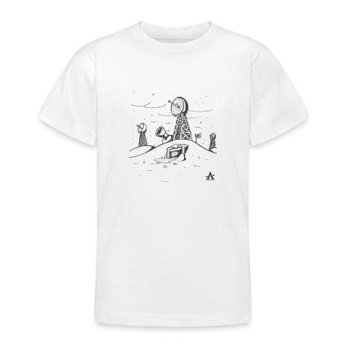 ligne de base arctique croquis - T-shirt Ado