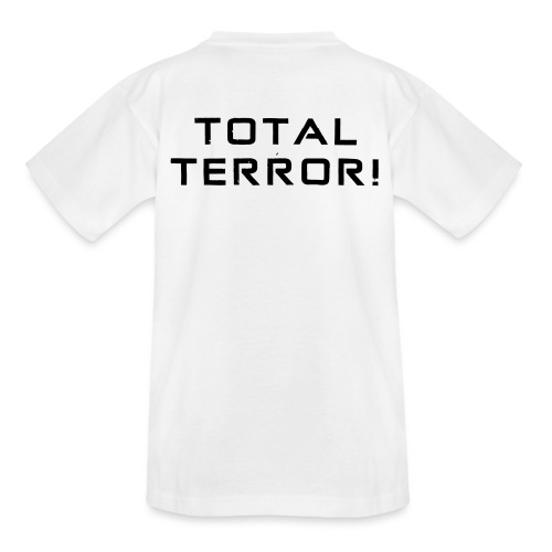 Black Negant logo + TOTAL TERROR! - Teenager-T-shirt