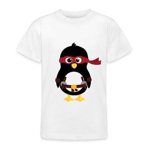 Pingouin ninja Raphaelo - T-shirt Ado
