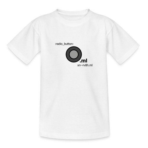 Button - Teenager T-Shirt