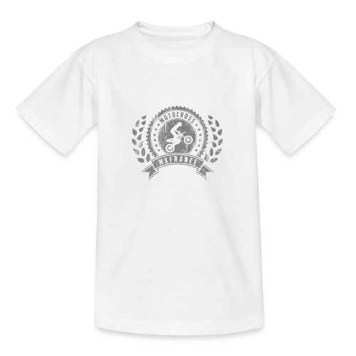 Motocross Retro Champion - T-shirt Ado