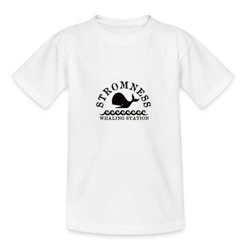 Sromness Whaling Station - Teenage T-Shirt