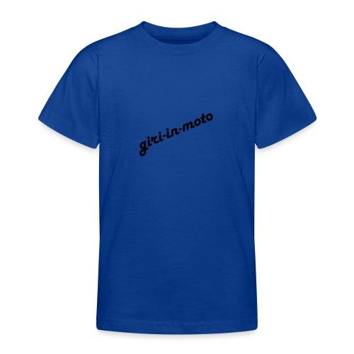 GIRI IN MOTO LIFESTYLE LADY NERO - Maglietta per ragazzi