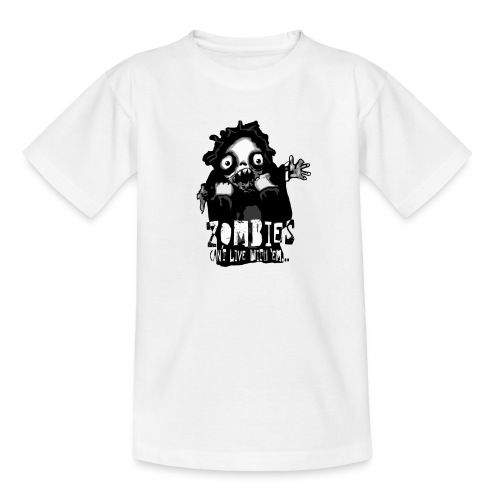 zombies - Cant live with em - T-shirt tonåring