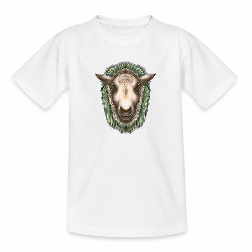 Zed The Sheep by Jon Ball - Teenage T-Shirt