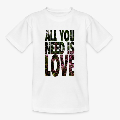 All You need is love - Koszulka młodzieżowa