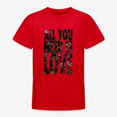 All You need is love - Koszulka młodzieżowa
