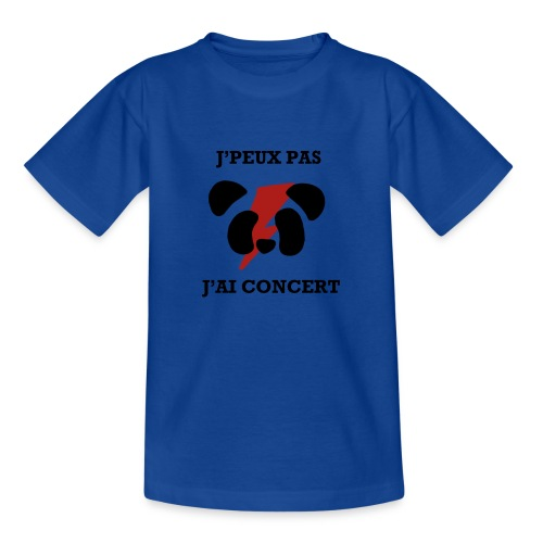 J'peux pas j'ai concert - T-shirt Ado