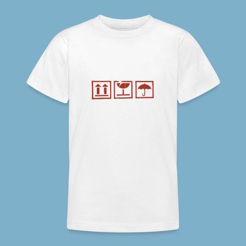 Zerbrechlich - Teenager T-Shirt