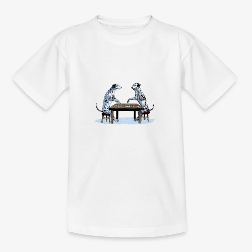 Dalmatians domino - Teenage T-Shirt