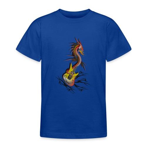 Guitar Dragon - Teenager T-Shirt