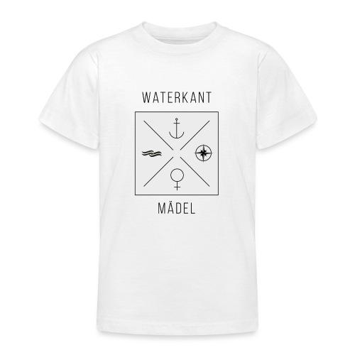 Waterkant Maedel - Teenager T-Shirt