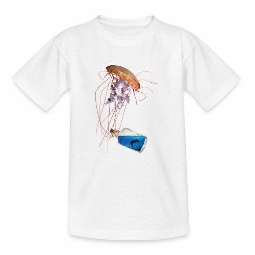 Woman in a bottle - Teenager T-Shirt