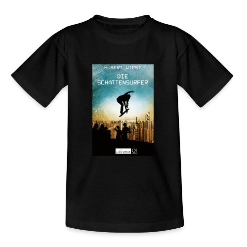 Schattensurfer Tasse jpg - Teenager T-Shirt