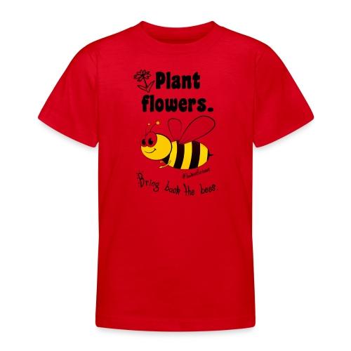 Bees8-1 Bringt die Bienen zurück! | Bookrebels - Teenage T-Shirt