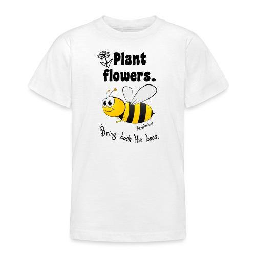 Bees8-2 Bringt die Bienen zurück! | Bookrebels - Teenage T-Shirt