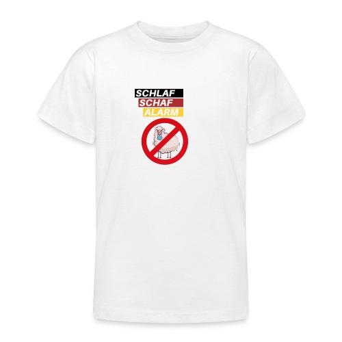 Schlaf-Schaf-Alarm - Teenager T-Shirt