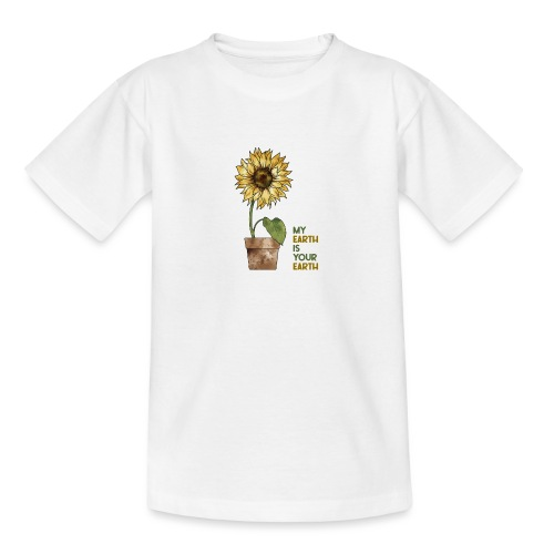 My earth is your earth - Teenager T-Shirt