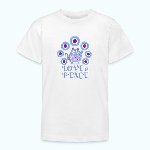 Hippie monster - Teenage T-Shirt