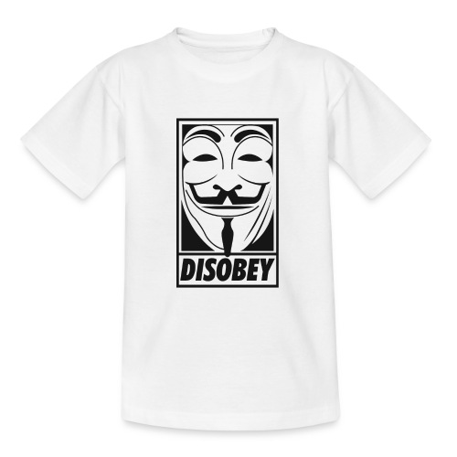 Anonymous disobey - T-shirt Ado