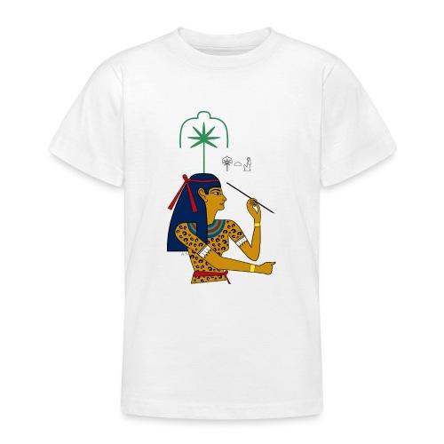 Seschat – altägyptische Göttin - Teenager T-Shirt