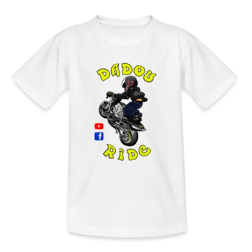 Dadou Ride - T-shirt Ado