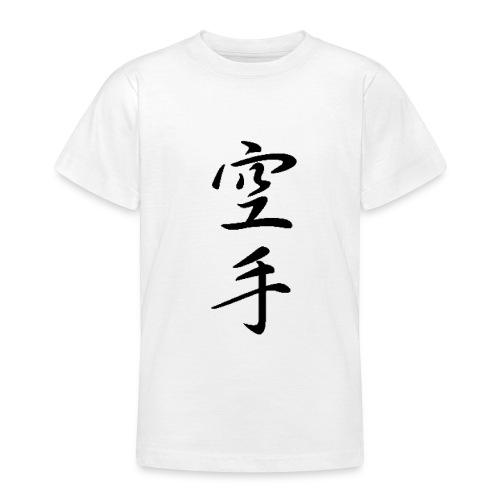 karate kanji - Teenage T-Shirt