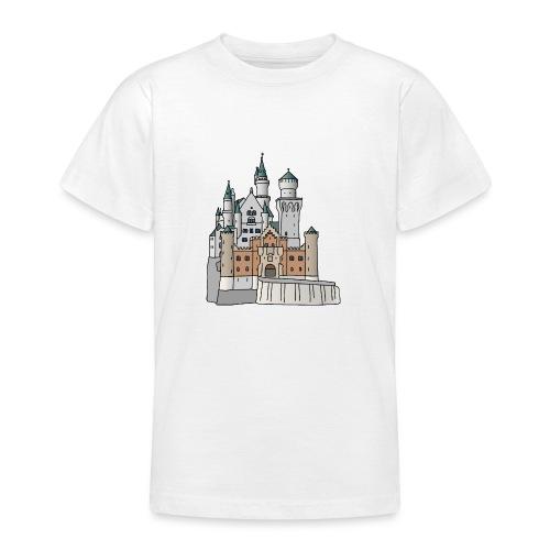 Schloss Neuschwanstein c - Teenager T-Shirt
