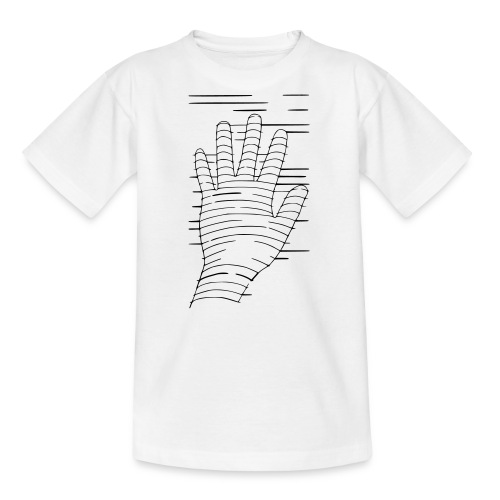 Eigene Hand - Teenager T-Shirt
