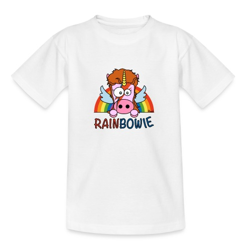 Licorne RainBow Bowie - T-shirt Ado