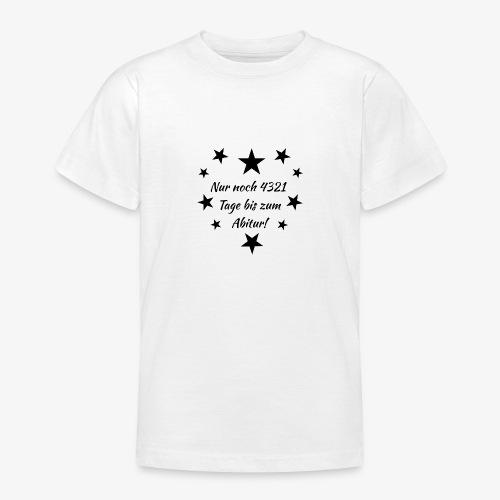 Schulanfang Black - Teenager T-Shirt