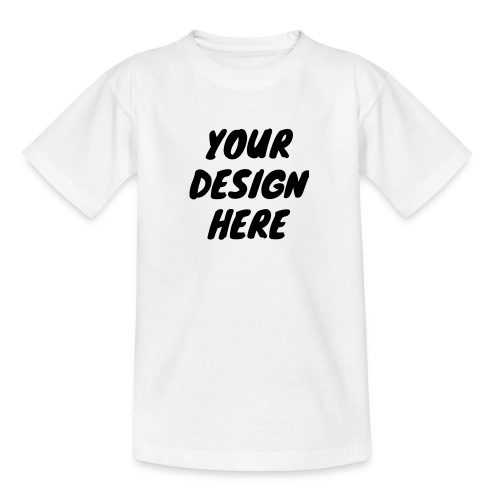 printfile front 9 - T-shirt tonåring