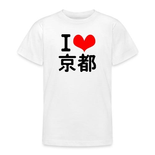 I Love Kyoto - Teenage T-Shirt