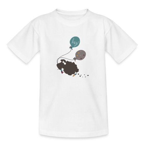 Schaf Elsbeth mit Luftballon - Teenager T-Shirt