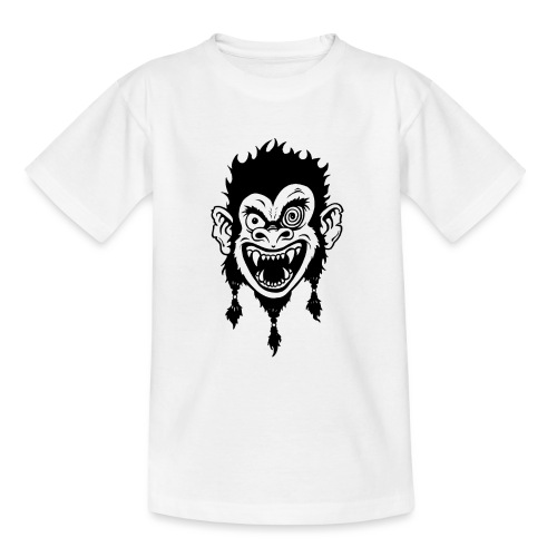 Crazy Monkey - Teenager T-Shirt