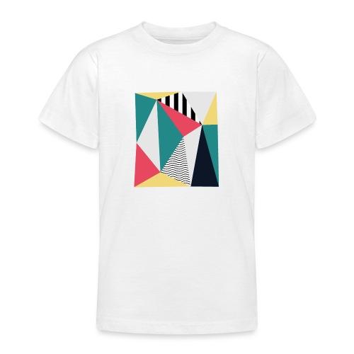 Triangulos - Camiseta adolescente