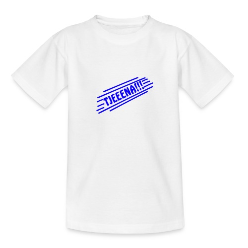 Tjena (Blue) - T-shirt tonåring