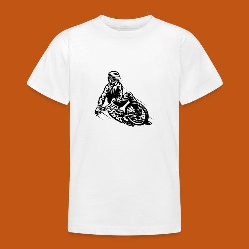 BMX / Mountain Biker 03_schwarz - Teenager T-Shirt