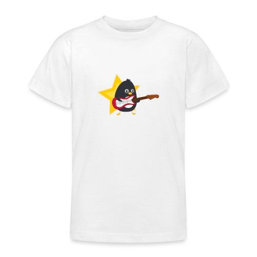 Pingouin Guitariste - T-shirt Ado