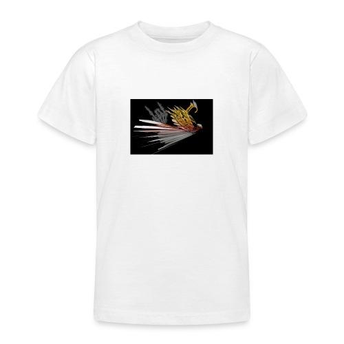 Abstarct Bird and Skeleton Hand - Teenage T-Shirt
