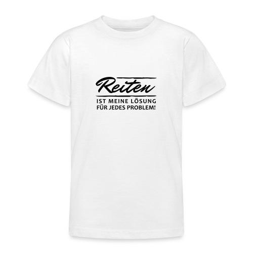 T-Shirt Spruch Reiten Lös - Teenager T-Shirt