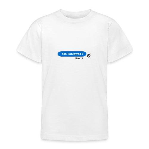 ach kat3awed messenger - T-shirt Ado