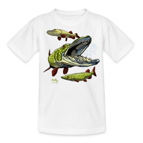 Cool Pike Fishing T-shirt, Hoodie and Products - Nuorten t-paita